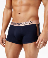 Emporio Armani Men's Shiny Logo Trunks