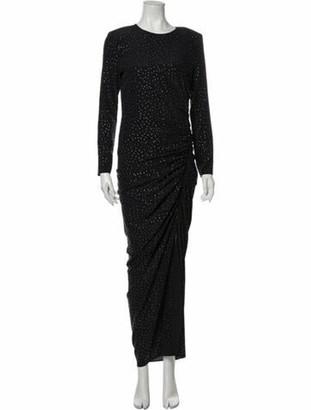 Veronica Beard Amara Long Dress Black