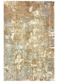 StyleHaven Francesca Handcrafted Distressed Hi-Low Detail Area Rug