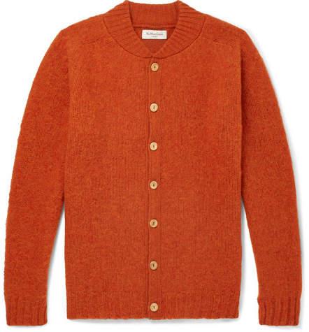 YMC Brushed-Wool Cardigan