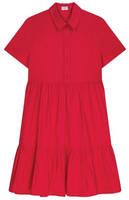 Claudie Pierlot Tiered Shirt Dress