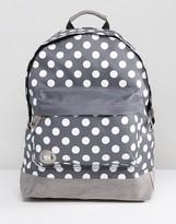 Mi-Pac Mi Pac White Polka Backpack