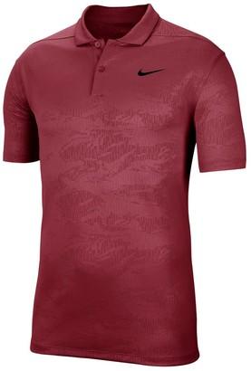 Nike Men's Dri-FIT Embossed Camo Golf Polo