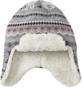 Joe Fresh Toddler Girls' Check Trapper Hat