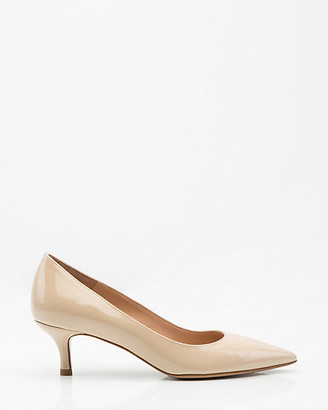 Le Château Italian-Made Patent Leather Pointy Toe Pump