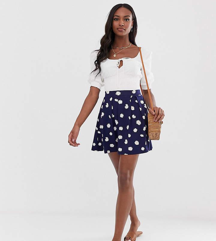 ba302008d Box Pleat Mini Skirt - ShopStyle UK