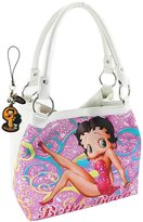 Betty Boop Red Dress Purse, Plus Charm