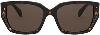 Prada Pr 15xs Havana Sunglasses