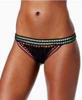 Bar III Weave It Hipster Bikini Bottoms, Created for Macy's
