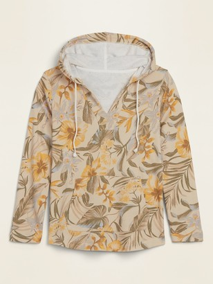 Old Navy French Terry V-Neck Plus-Size Pullover Hoodie