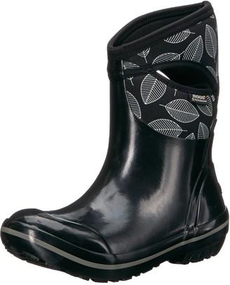 Bogs Women's Plimsoll Leafy MID Snow Boot
