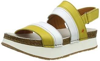 Art 1263 Grass Corn-white/ Mykonos, Women's Heels Sandals,(40 EU)