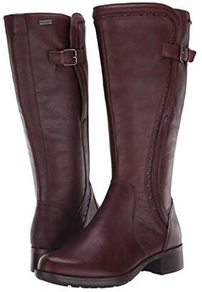 Rockport Copley Tall Waterproof Boot (Black) Women's Boots