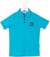 Stone Island Junior - short-sleeved polo shirt - kids - Cotton - 2 yrs