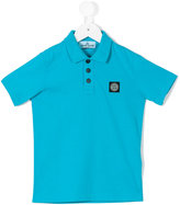 Stone Island Kids short-sleeved polo shirt