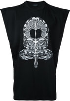 Marcelo Burlon County of Milan snake print tank - men - Cotton - M