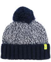 Armani Junior pom-pom beanie - kids - Acrylic/Viscose/Wool/Alpaca - 40 cm
