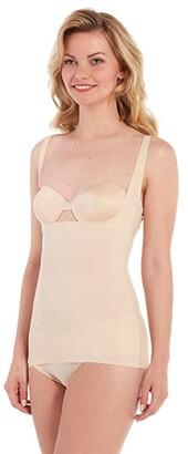 Magic Body Fashion MAGIC Bodyfashion Maxi Sexy Shaping Top (Latte) Women's Clothing