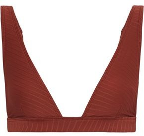 Zimmermann Ribbed Triangle Bikini Top