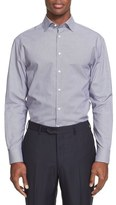 Armani Collezioni Extra Trim Fit Micro Pattern Dress Shirt