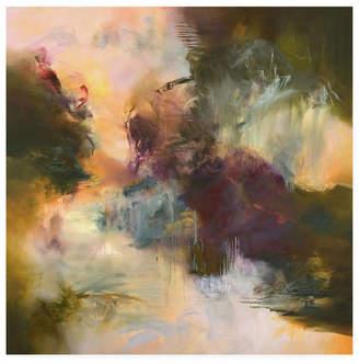 "Wanderlust Emilia Aran Muted Canvas Art - 15.5"" x 21"""