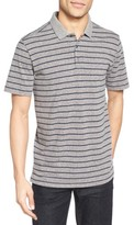 Nordstrom Men's Heathered Stripe Jersey Polo