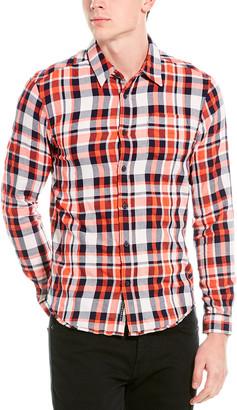 Scotch & Soda Brushed Flannel Shirt
