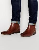 Ben Sherman Chelsea Boot - Brown