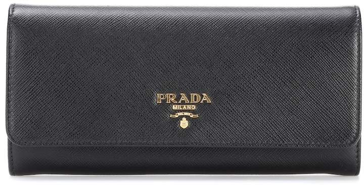 a979805a8fed82 Prada Saffiano Wallet - ShopStyle