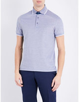 Canali Cotton-jersey Polo Shirt