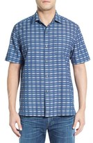 Tommy Bahama Men's 'Pixel In Paradise' Original Fit Short Sleeve Sport Shirt