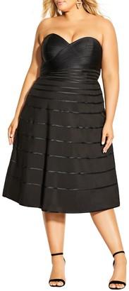 City Chic Couture Midi Dress
