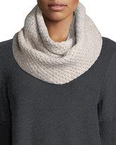 Portolano Cashmere Knit Infinity Scarf
