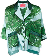 F.R.S For Restless Sleepers palm leaf print pyjama top
