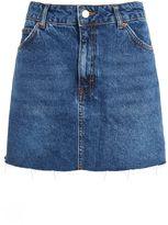 Topshop PETITE Raw Hem Skirt