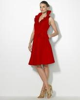 "Lauren Ralph Lauren Lauren by Ralph Lauren Dress ""Abril"" Sleeveless Wrap Dress"