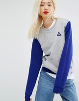 Le Coq Sportif Color Block Crew Sweatshirt