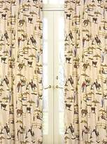 JoJo Designs Sweet Wild West Cowboy and Horses Print Window Treatment Panels - Set of 2