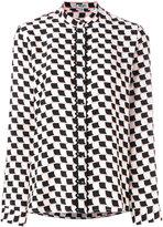 Kenzo geometric print shirt