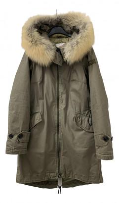 Peuterey Green Fox Coats
