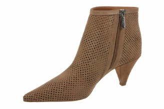 Franco Sarto Womens Bobbi Taupe Booties 5 M