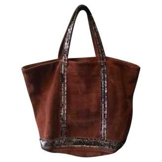 Vanessa Bruno Cabas Burgundy Suede Handbags