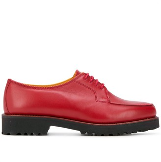 Holland & Holland chunky heel oxford shoes
