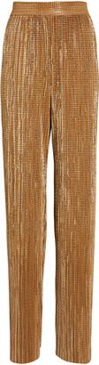 Sabina Musayev Elai Plisse Lurex Trousers