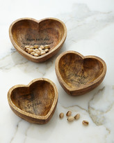 GG Collection G G Collection Gratitude Bowls, 3-Piece Set