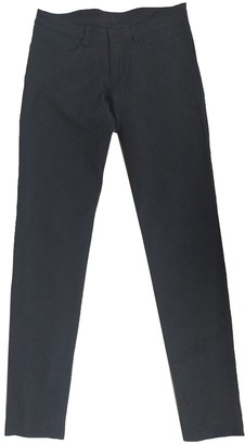 Lululemon Navy Polyester Trousers