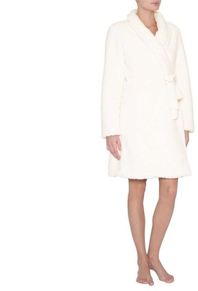 Eberjey Alpine Chic The Sherpa Robe Ivory Medium