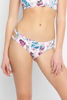 Bikini Lab Bouquet-er Cutout Hipster Bikini Bottoms