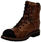 Justin Boots Justin Work Boots Mens Composition Toe Rubber Cap Rugged CW679A