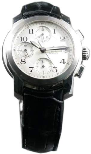 Baume & Mercier Baume & Mercies Capeland Stainless Steel Chronograph 38mm Watch